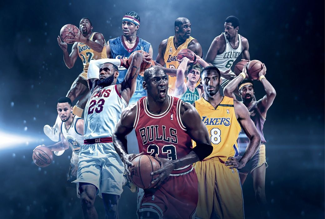 TOP NBA Players of all time